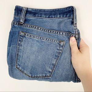 J.Crew   broken in boyfriend light wash jeans 28